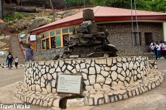 The Olumo fountain