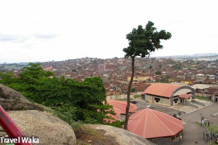 Abeokuta city - Olumo rock