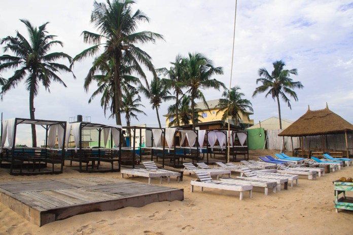 Laguna Beach - best beach in Nigeria