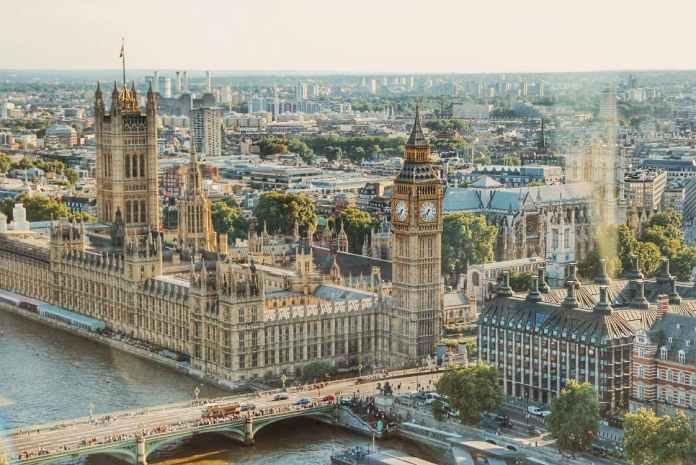 London Top Tourist Destination Countries