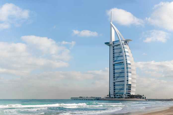 The Burj Al Arab - top tourist destinations Dubai