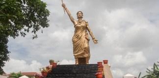 Queen moremi Ajasoro statue