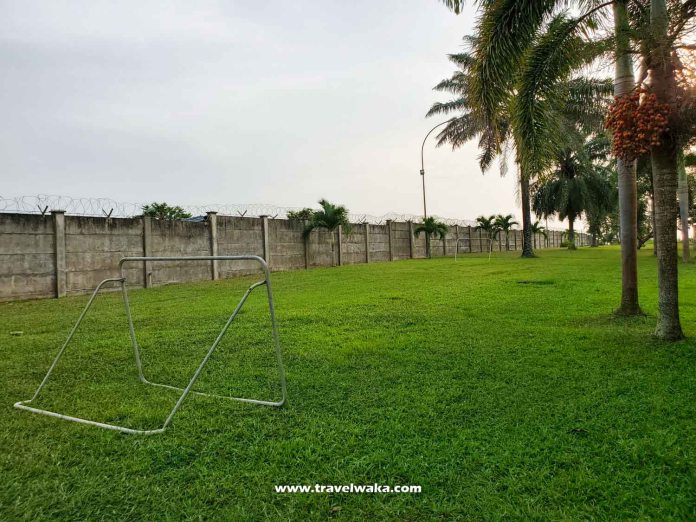 mini football pitch epe resort