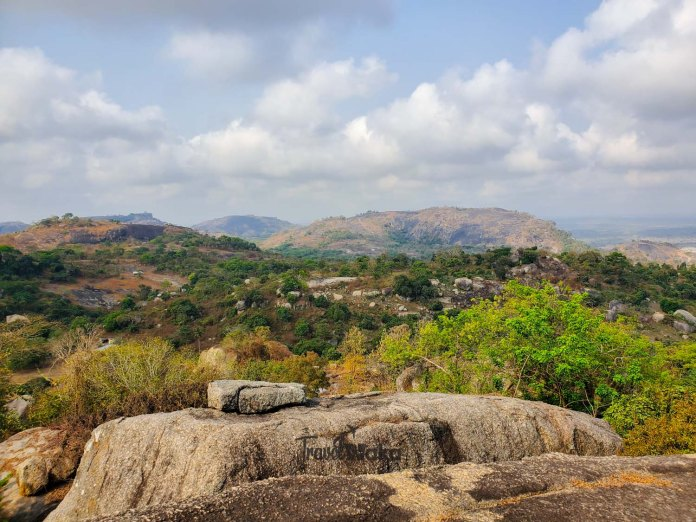 lovely views of nature in oyo