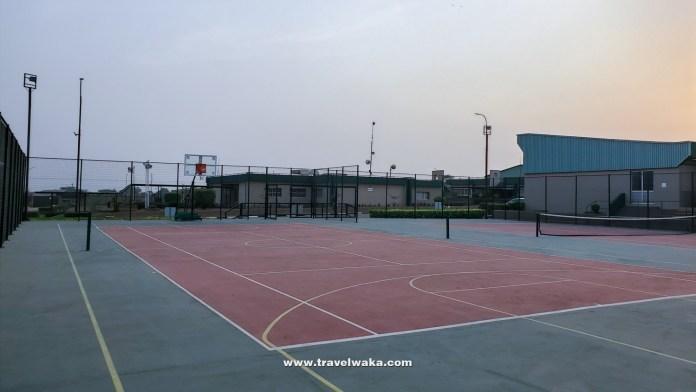 basketball court at Ogere