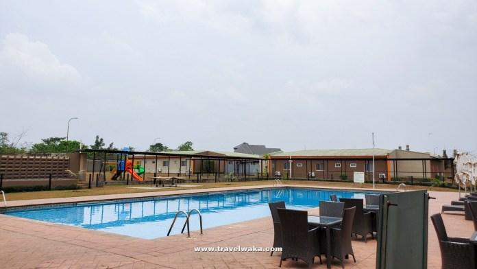 swimming pool at Ogere Resort