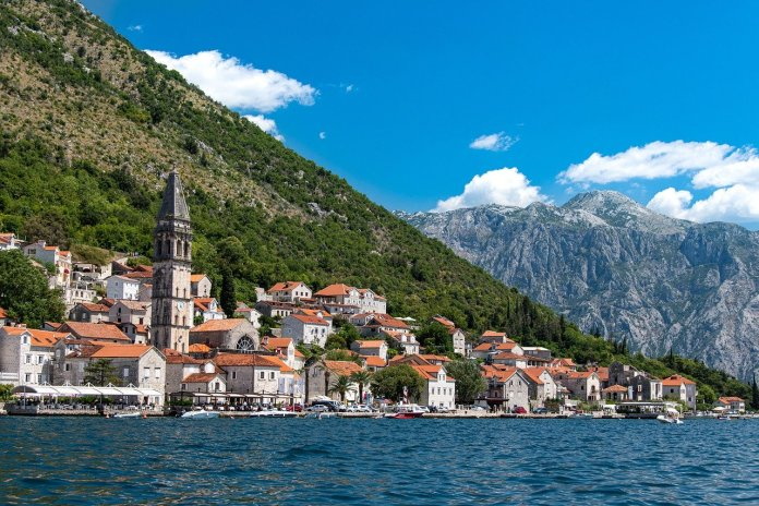 smallest countries in Europe Montenegro