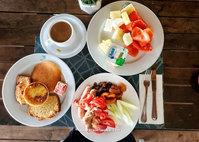 Food at Benin republic resort
