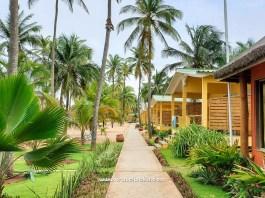 resort beach view in benin