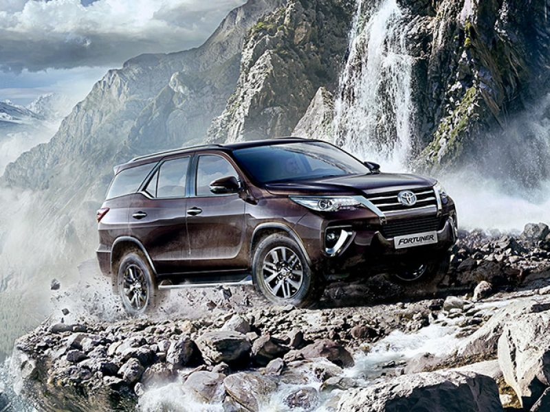 Toyota Fortuner (2018 Model) - Travel Warehouse Zambia