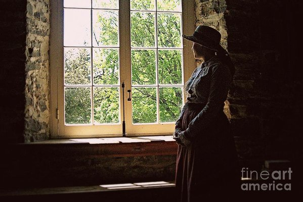Looking Out Of The Window Art Print by Tatiana Travelways