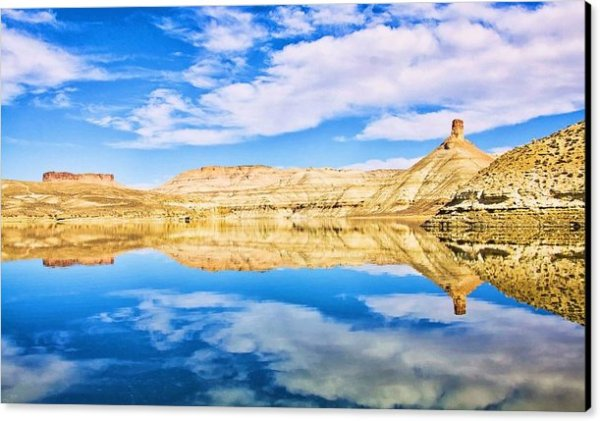 Symmetry at Flaming Gorge National Park by Tatiana Travelways