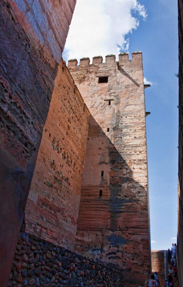 Alhambra medieval walls