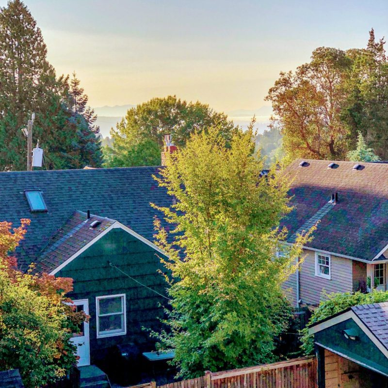 Signs of Fall in Seattle