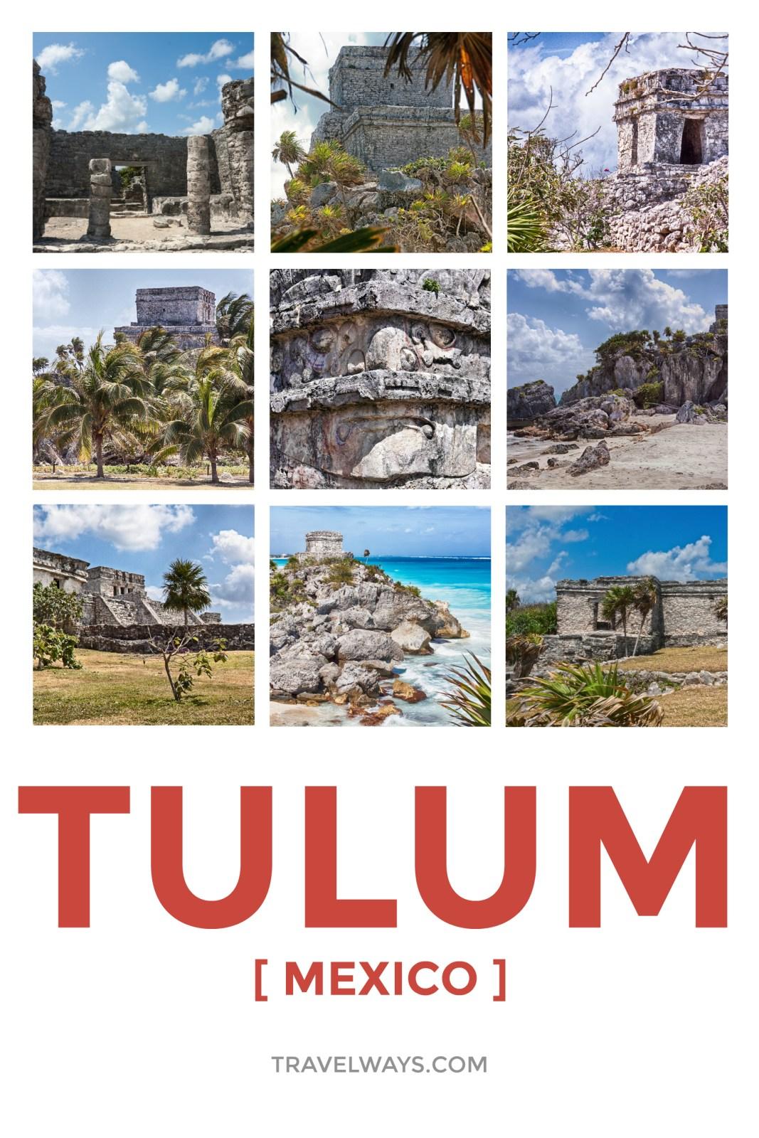 Tulum Mayan Site, Mexico