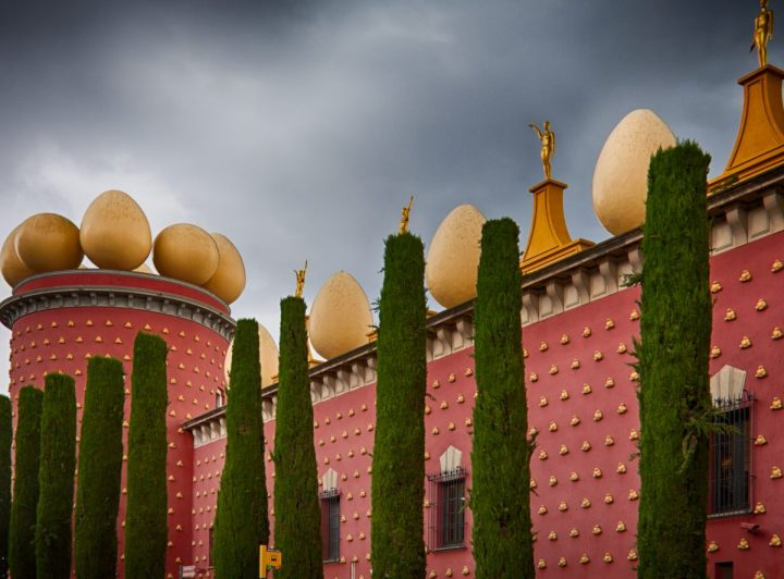 Dali Theater-Museum in Figueres, Spain