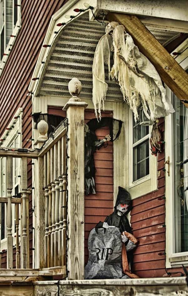 Halloween witch in Newfoundland