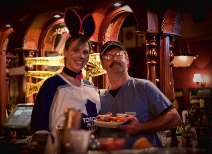 Halloween Party at the Pub in Ottawa