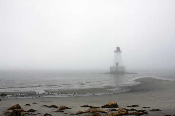 Foggy days in Nova Scotia