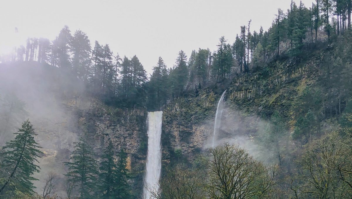 Misty Multhnoma Falls
