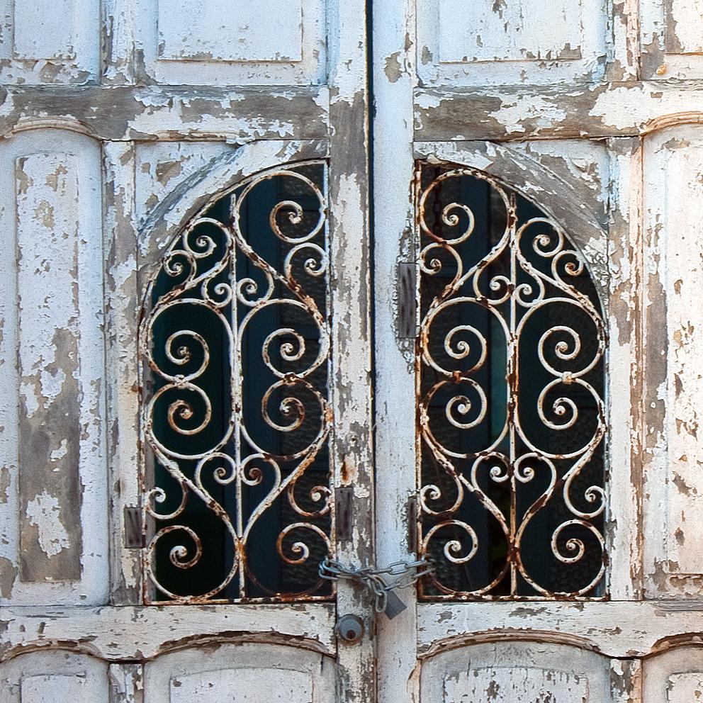 Merida metallic door screen