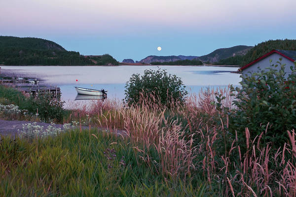 Full moon Twillingate Newfoundland