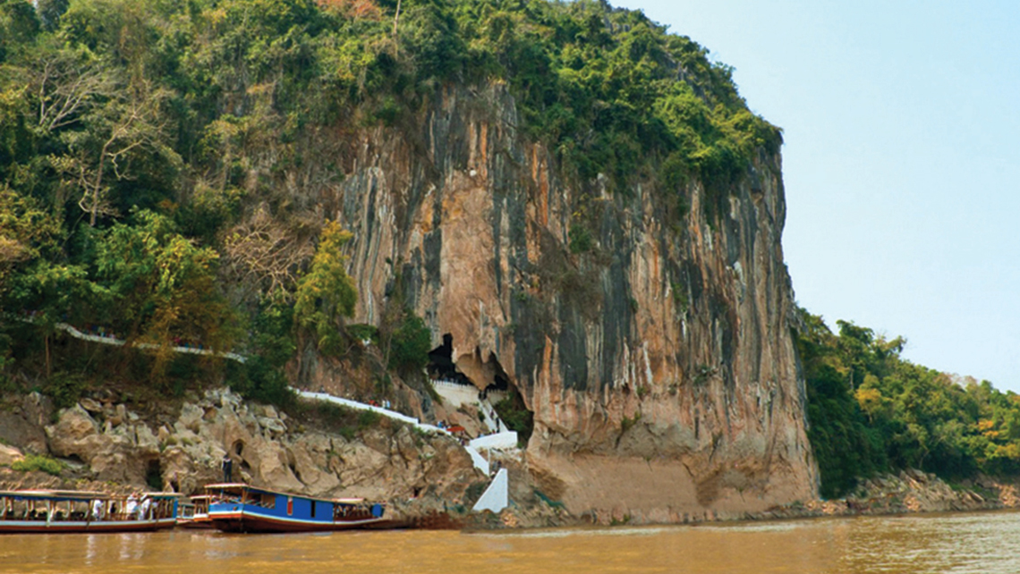 The Pak Ou Caves in Laos will be a stop on Pandaw's new Laos itinerary.