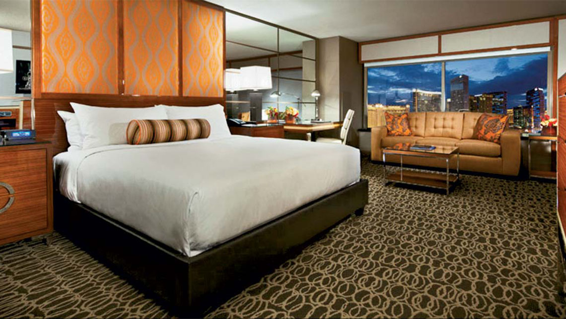 MGM Grand's Stay Well units feature wellness amenities and technology.