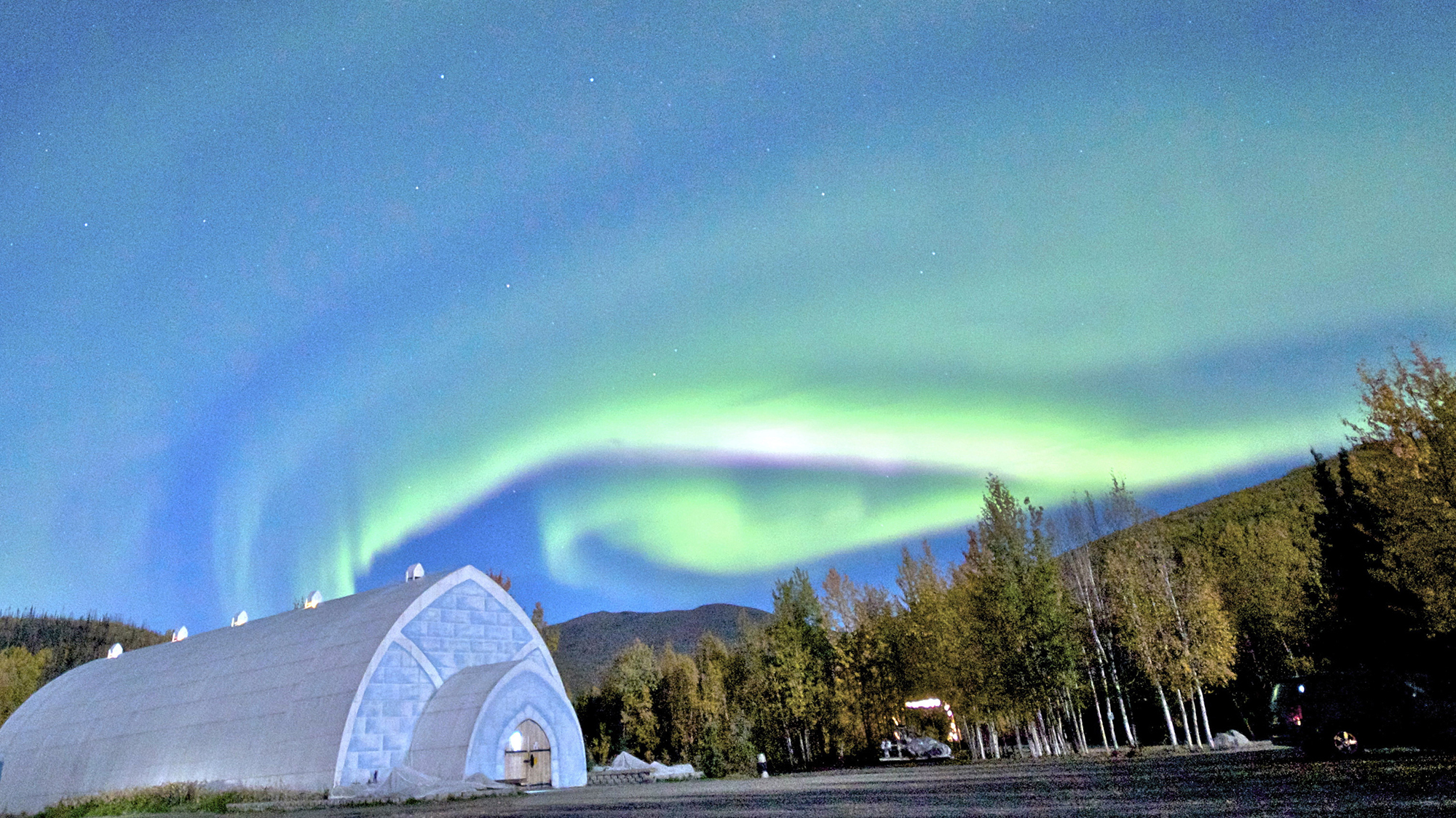 Northern Lights Chena Hot Springs Travel Weekly