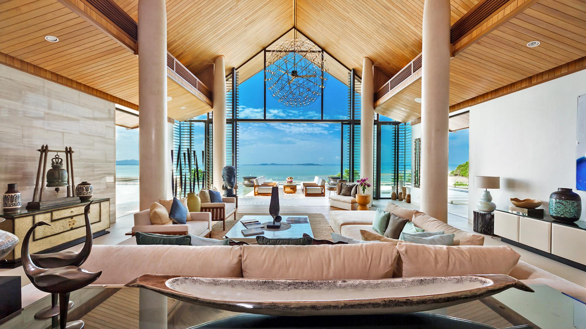 luxury retreats blurring lines