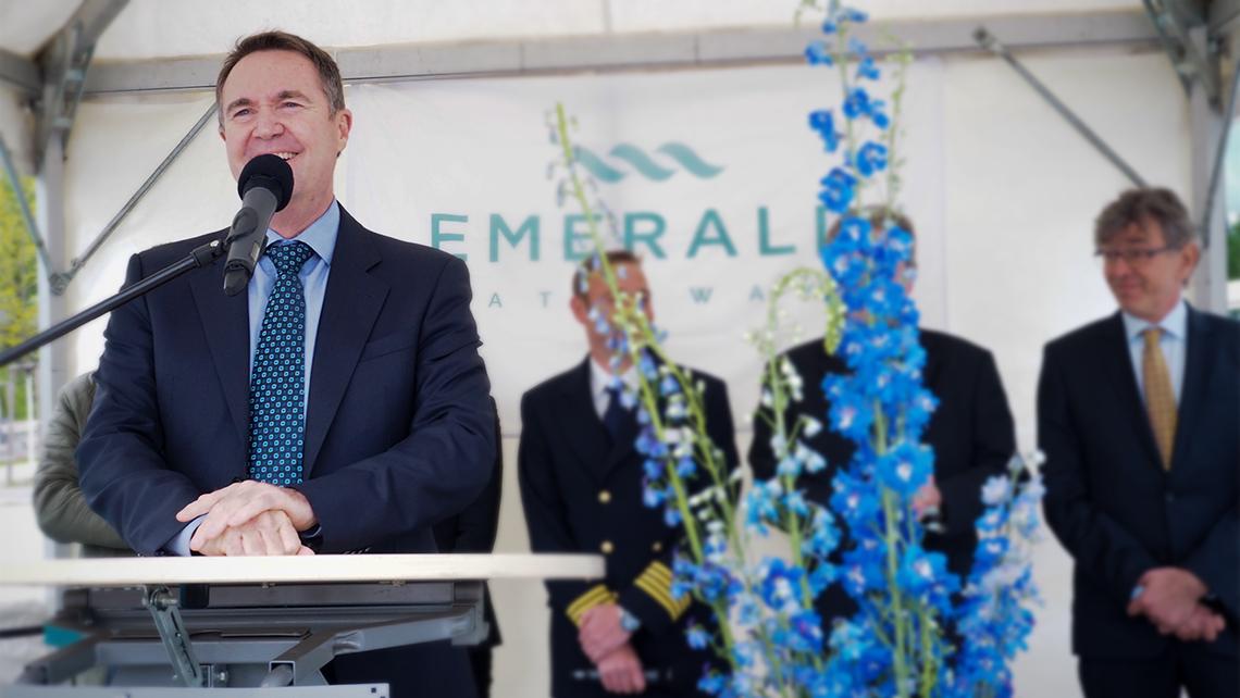 Emerald Waterways celebrates renewal with Destiny