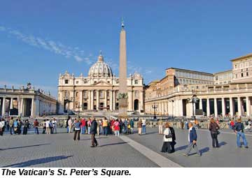 Vatican St Peters Square