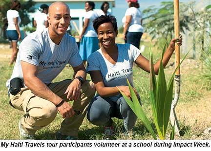 Haiti tour - volunteers