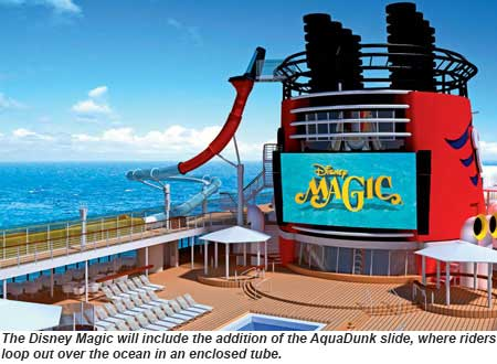 Disney Magic AquaDunk rendering