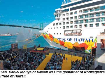 Pride Of Hawaii christening