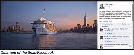 Quantum of the Seas/Facebook