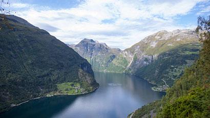 Norwegian fjords - Disney