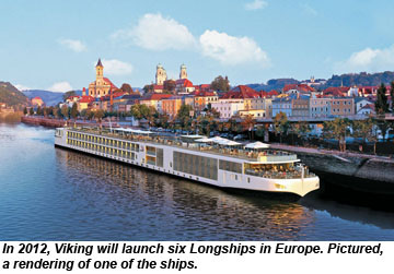 Viking Longship rendering