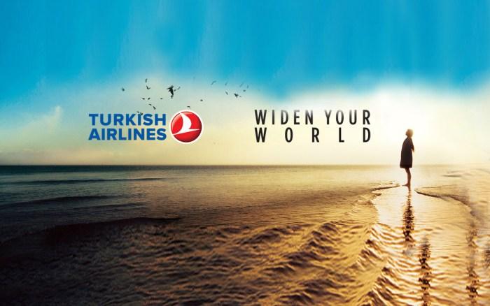 turkish airlines travel wide flights