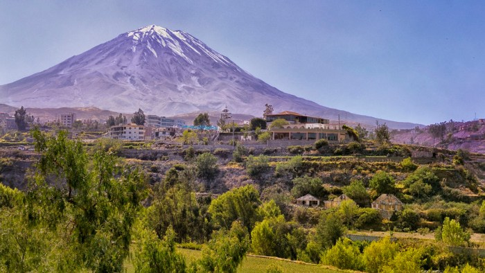 Arequipa Travel Wide Flights