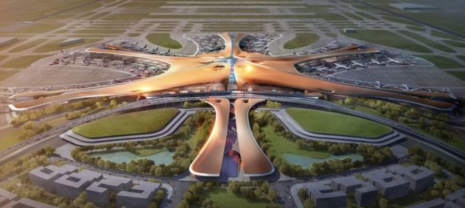 China Is Constructing the World's Largest Airport
