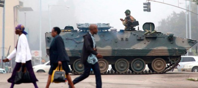 Zimbabwe Crisis |  Zimbabwe is under military control