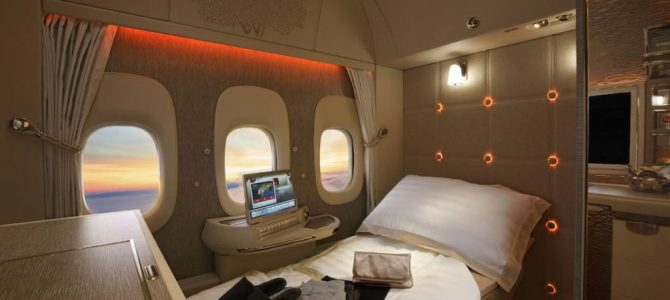 Emirates Test Windowless Planes