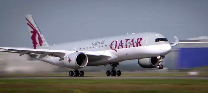 Qatar Airways To Operate Airbus A350 To New York