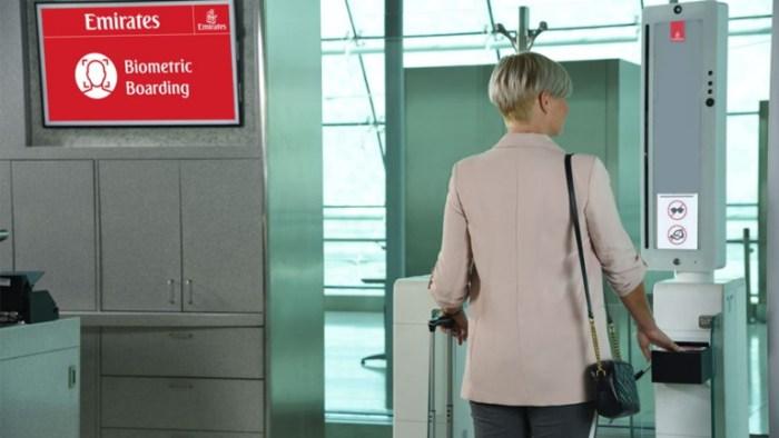 Emirates airline announces biometric path for travelers departing Dubai International Airport