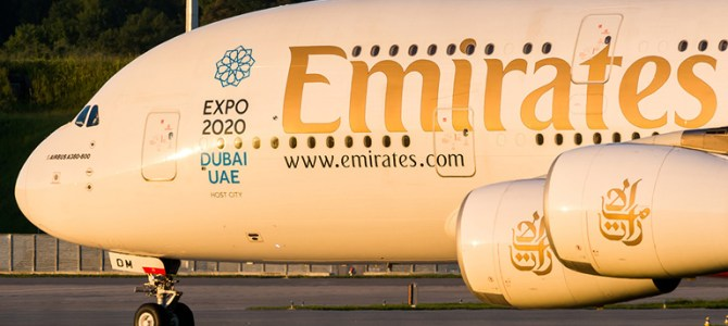 Emirates to operate A380 Dubai to St. Petersburg