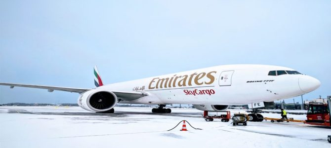Emirates plans to boost cargo ops to South America