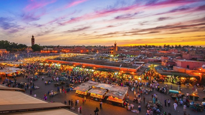 Jemaa El Fnaa Square Marrakech, TravelWideFlights