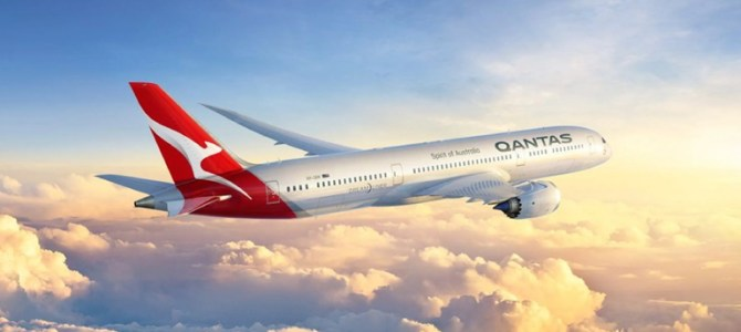 QANTAS Airways operates the world's first zero waste flight
