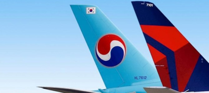 The Korean Air and Delta Airlines Joint Advertising Campaign